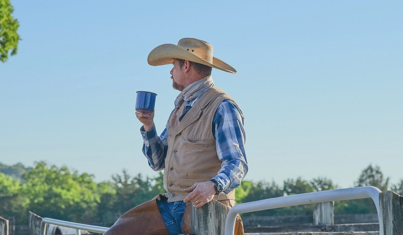 How did cowboys make coffee